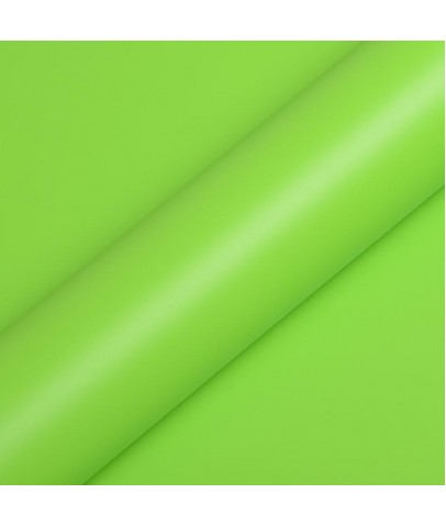 HEXIS ACID GREEN SATIN 152 CM